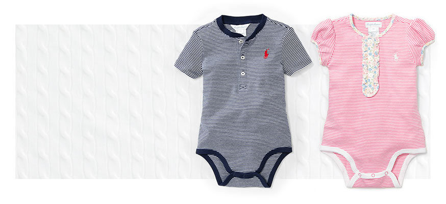 Navy striped shortall & pink striped shortall with floral placket